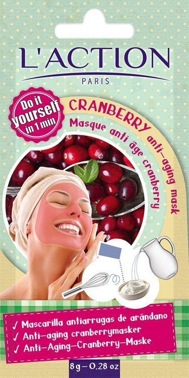 L'Action Paris Cranberry Anti-Ageing Mask