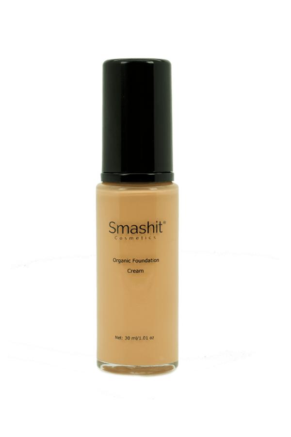 Smashit Cosmetics Organic Foundation, Cream (30ml)