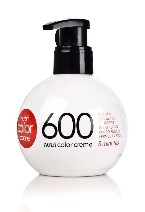 Revlon Professional Nutri Color Creme (250 ml), #600 Fire Red