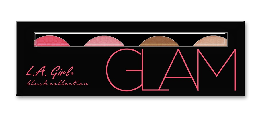 L.A. Girl Cosmetics Blush Collection, Glam GBL574 (22 g)