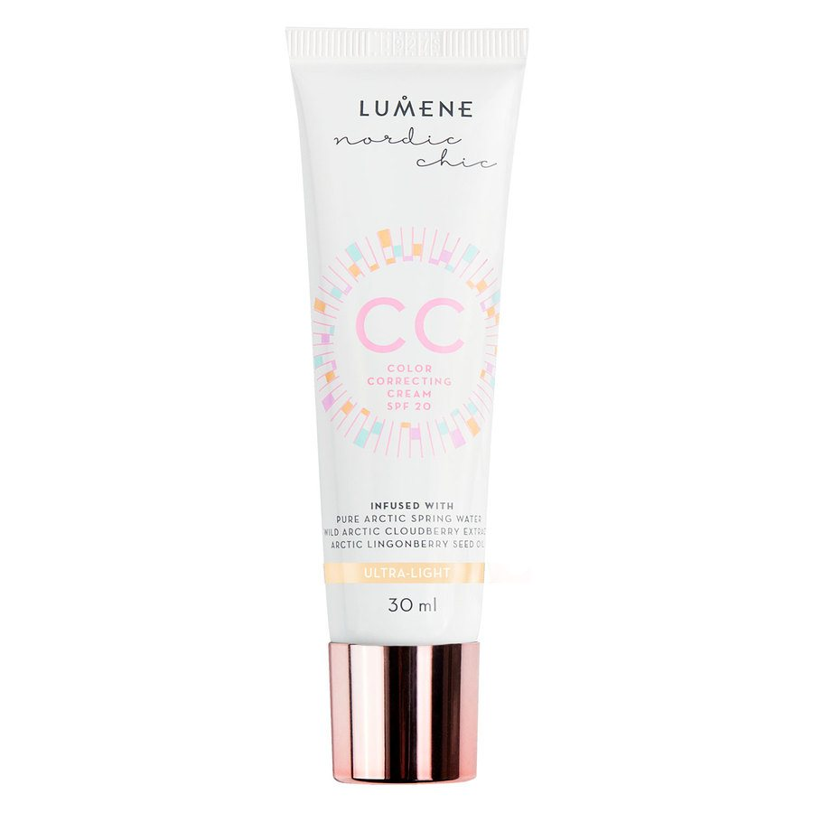 Lumene CC Colour Correcting Cream mit LSF 20, Ultra Light (30 ml)