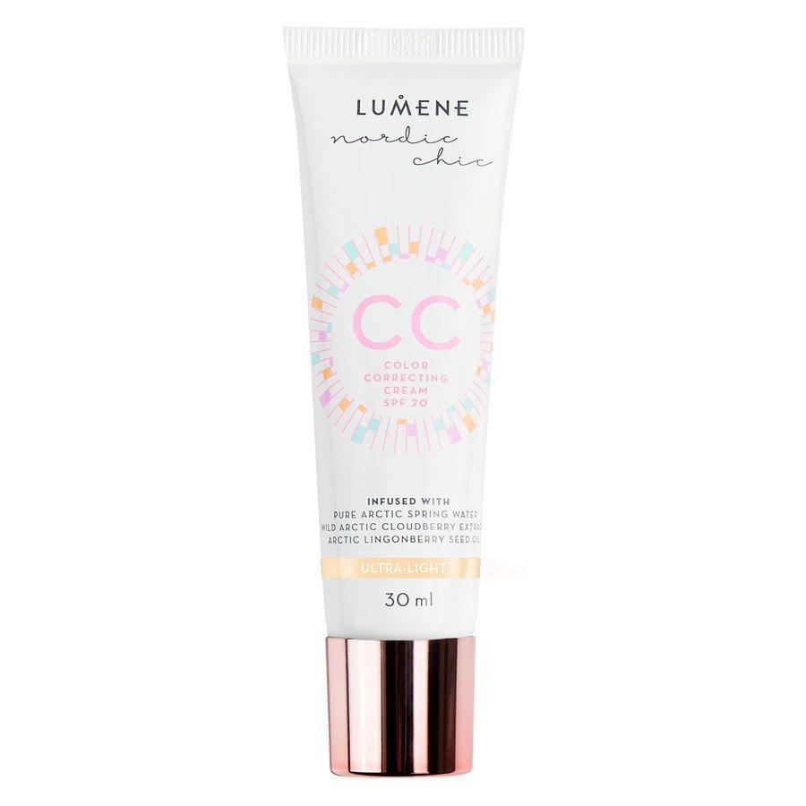 Lumene CC Colour Correcting Cream mit LSF 20, Ultra Light (30 ml)