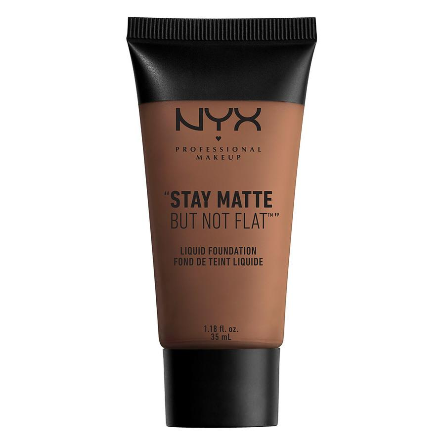 NYX Professional Makeup Stay Matte But Not Flat Liquid Foundation Cocoa 35ml SMF19