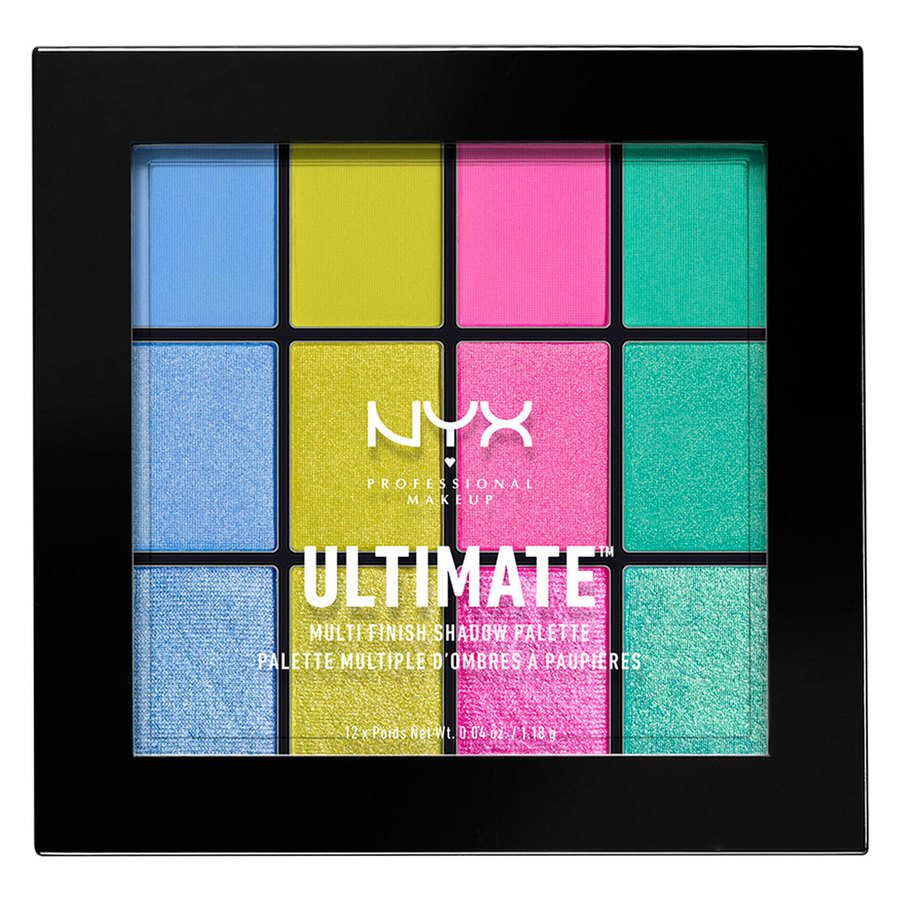 NYX Professional Makeup Ultimate Multi-Finish, Electric