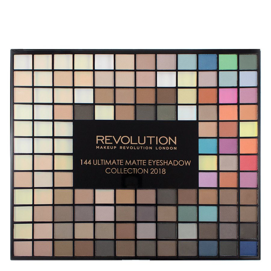 Makeup Revolution Ultimate 144 Eyeshadow Palette, Matte