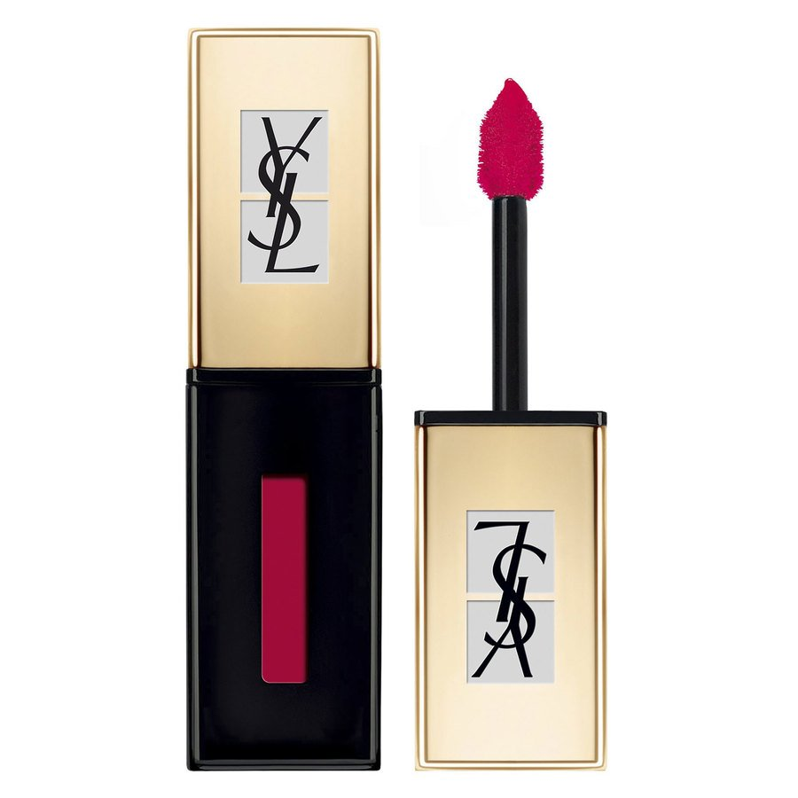 Yves Saint Laurent Vernis à Lèvres Glossy Stain Pop Water Lipstick #201 Dewy Red