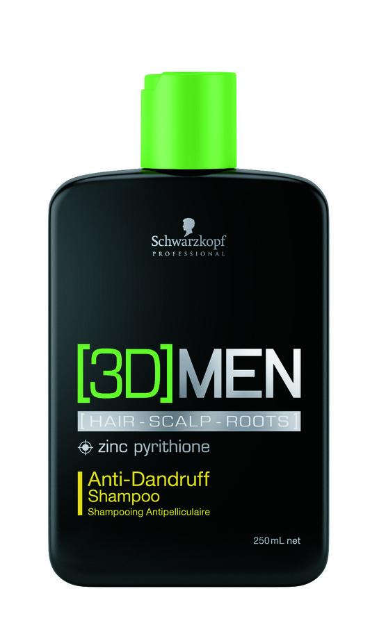 Schwarzkopf 3DMen Anti-Dandruff Shampoo (250 ml)