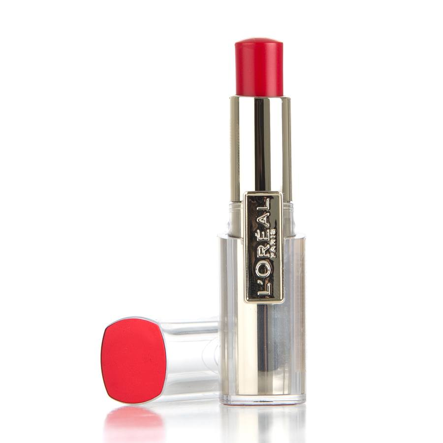 L'Oréal Paris Rouge Caresse Lipstick, 401 Rebel Red