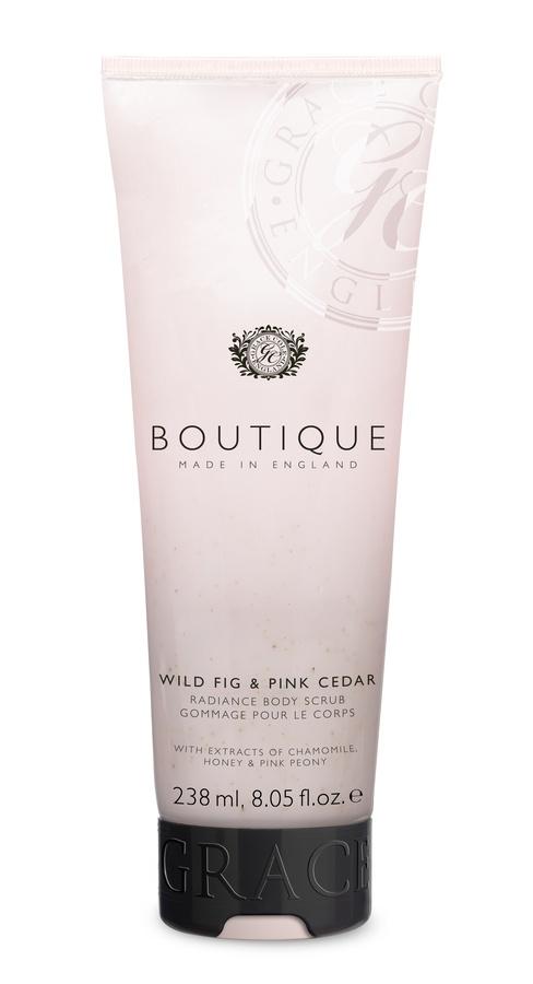 Grace Cole The Boutique Body Scrub (238 ml), Wild Fig & Rosa Cedar