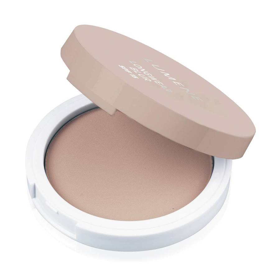 Lumene Longwear Blur Powder Foundation SPF 15 (10 g), 3 Fresh Apricot