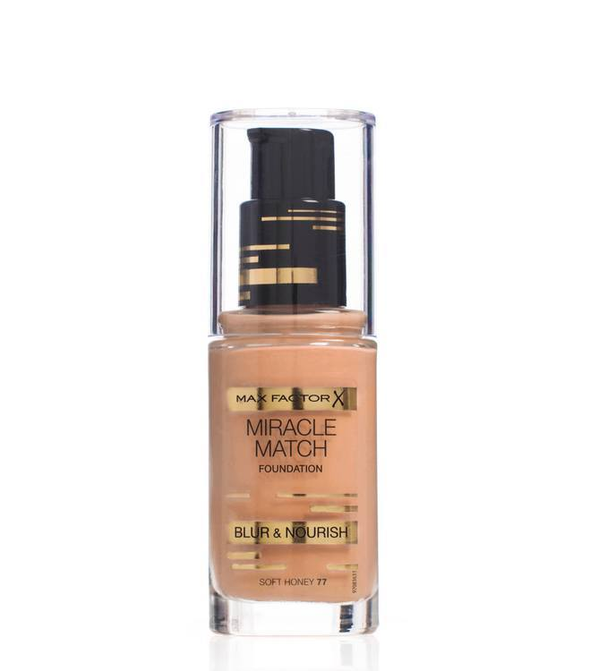 Max Factor Miracle Match Foundation, Soft Honey 077