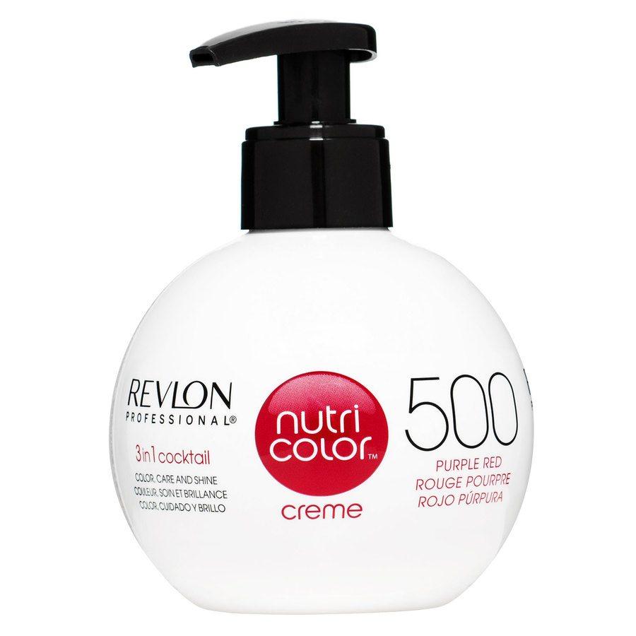 Revlon Professional Nutri Color Creme, #500 Purple Red (270 ml)