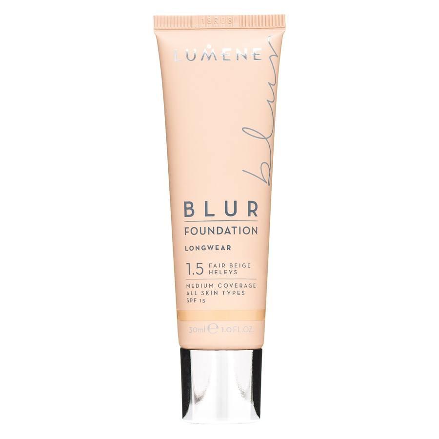 Lumene Blur Foundation 1,5, Fair Beige (30ml)