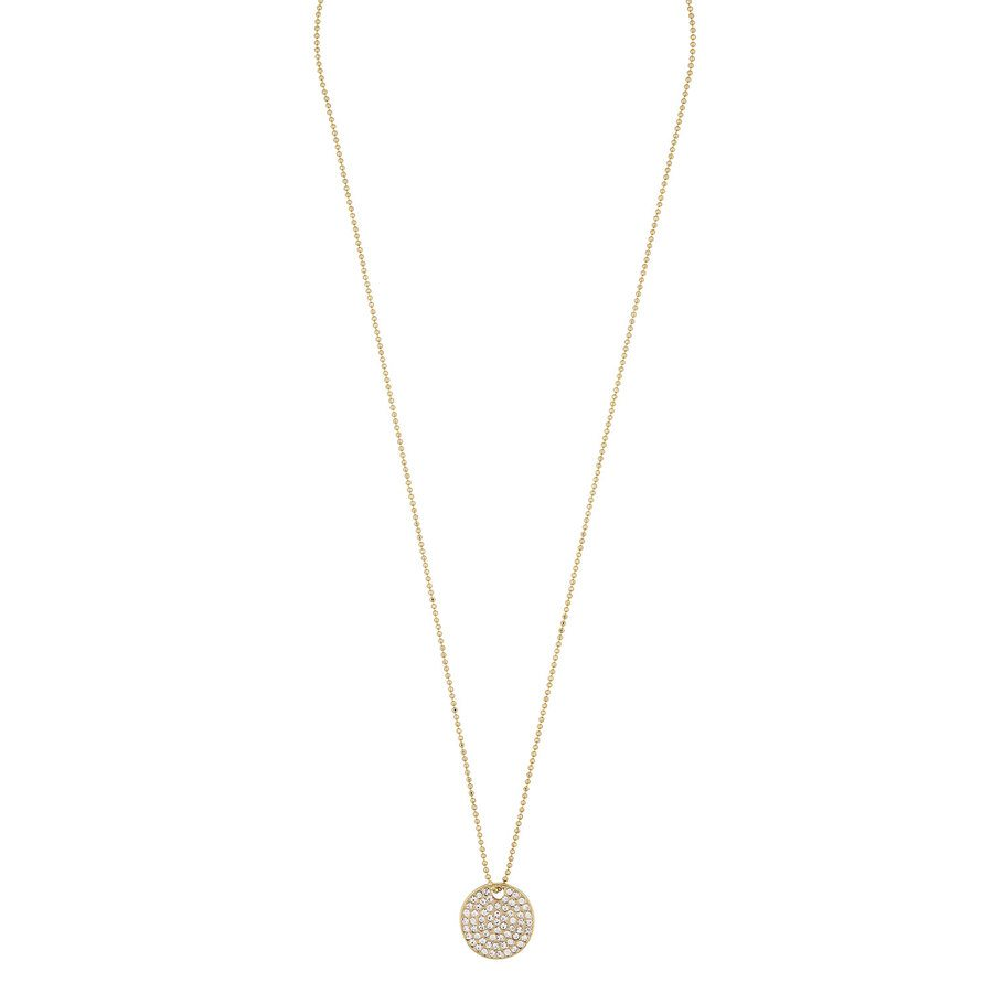 Snö of Sweden Corinne Pendant Necklace, Gold/Clear (42 cm)