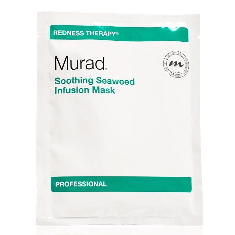 Murad Soothing Seaweed Infusion Mask (15Stück) & Tonic Water