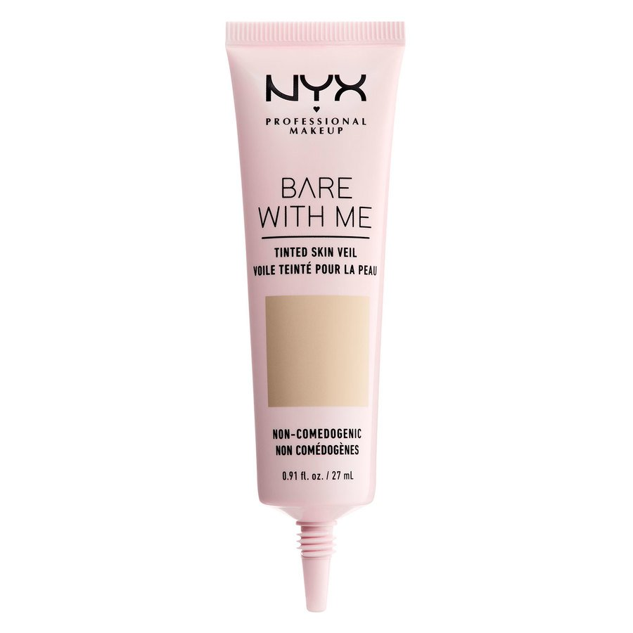 NYX Professional Makeup Bare With Me Tinted Skin Veil Vanilla Nude 27ml