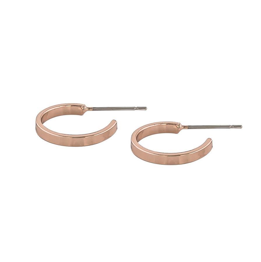 Snö Of Sweden Moe Ring Earring, Rosé (15 mm)