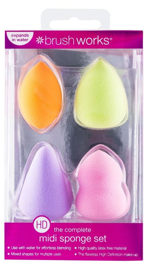 Brush Works HD Midi Sponge Set