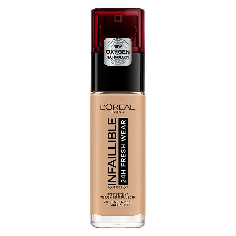 L'Oréal Paris Infaillible 24H Fresh Wear Foundation, #135 Radiant Beige (30 ml)