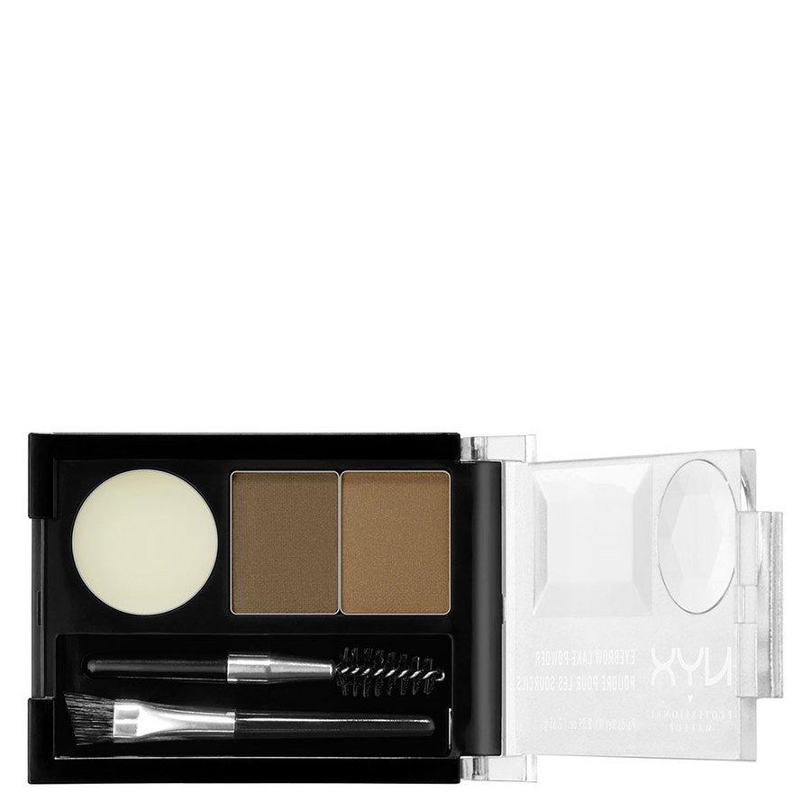 NYX Professional Makeup Eyebrow Cake Augenbrauenpuder, Blonde