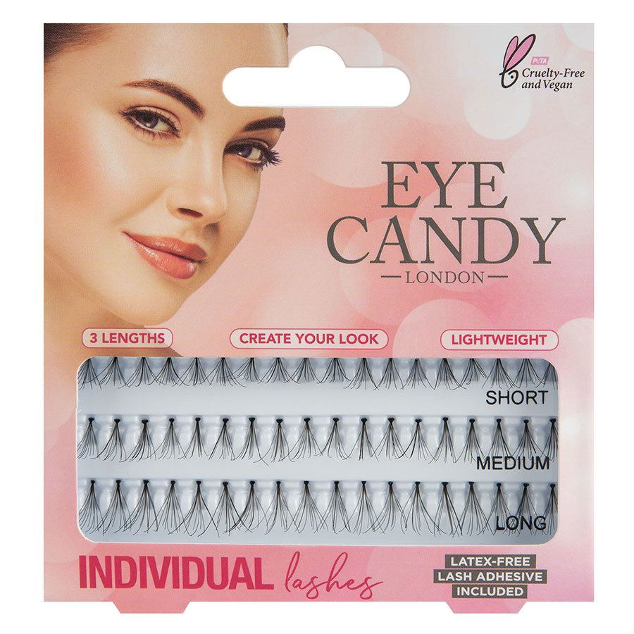Eye Candy Individual Lashes Combo, 50's