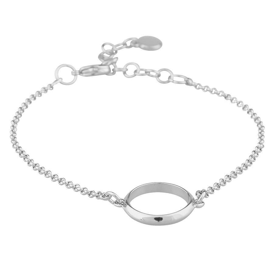 SNÖ of Sweden Gwen Chain Brace Plain Silver