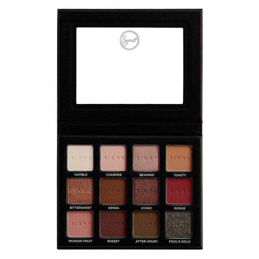 Sigma Warm Neutrals Volume 2 Eyeshadow Palette 13,23g