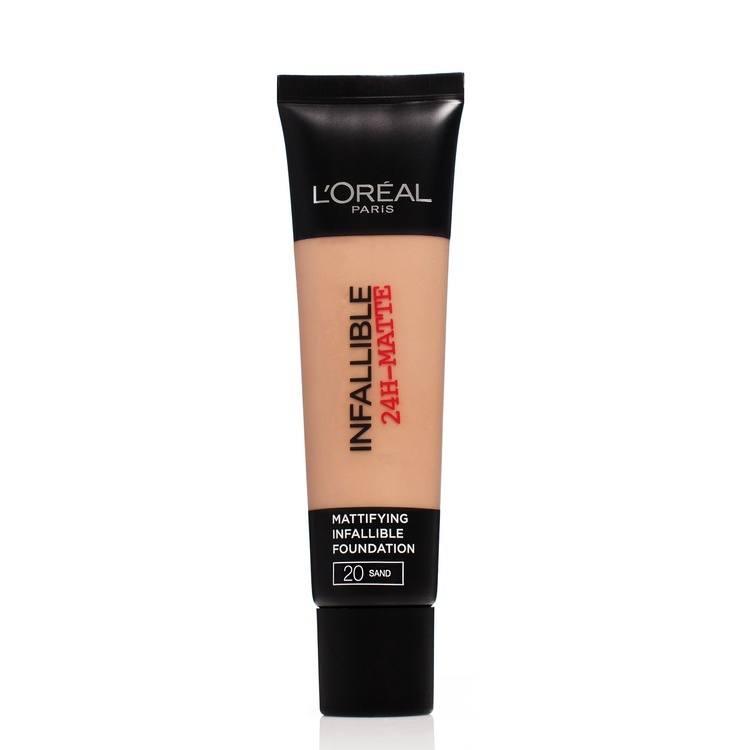 L'Oréal Paris Infallible 24h Matte Foundation #20 Sand 35ml