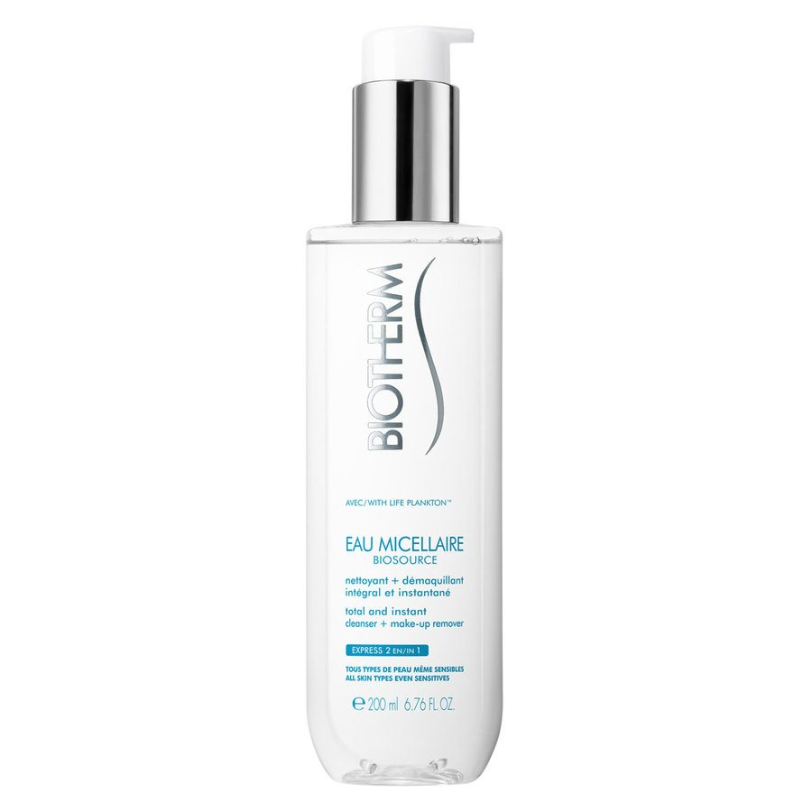 Biotherm Biosource Eau Micellaire Cleanser + Make-Up Remover (200 ml)