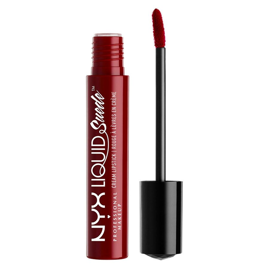 NYX Prof. Makeup Liquid Suede Cream Lipstick Cherry skies