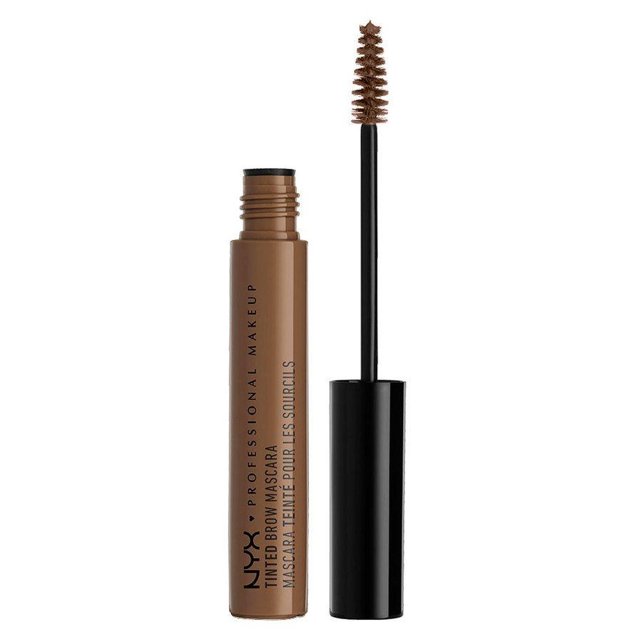 NYX Prof. Makeup Tinted Brow Augenbrauen-Mascara, Chocolate TBM02