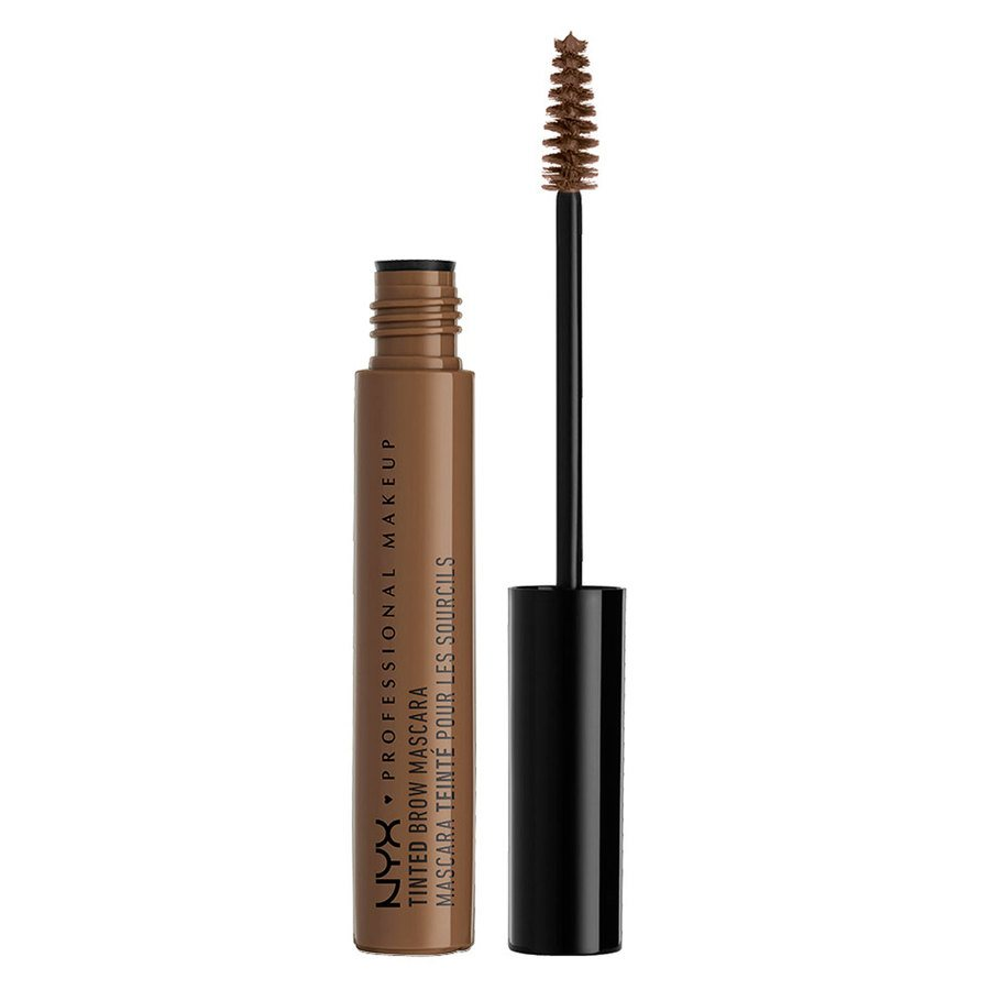 NYX Professional Makeup Tinted Brow Augenbrauen-Mascara, Chocolate TBM02