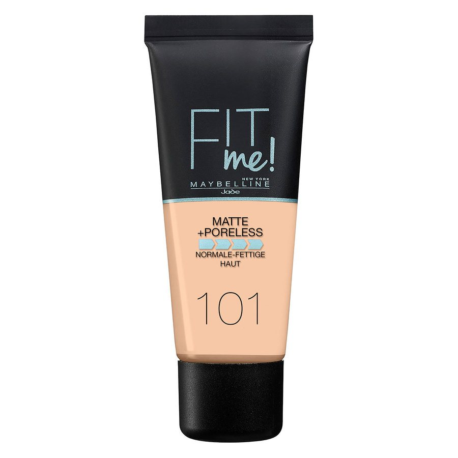Maybelline Fit Me Matte + Poreless Foundation, True Ivory #101 30ml