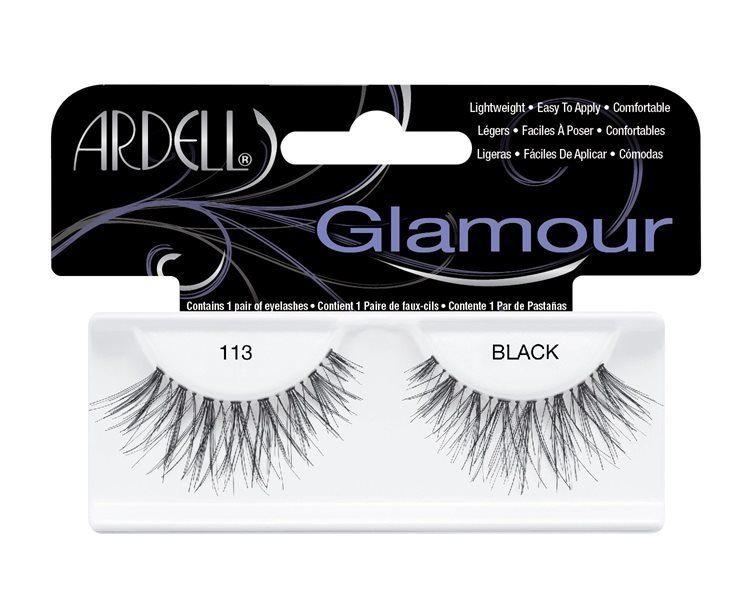 Ardell Glamour Fashion Lashes, 113 Black