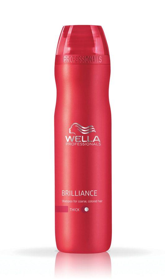 Wella Professionals Brilliance Coarse Hair Shampoo (250 ml)