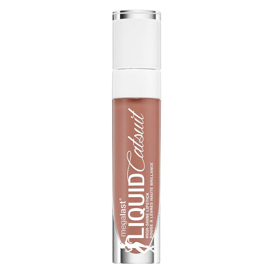 Wet'n Wild MegaLast Liquid Catsuit Hi-Shine Lipstick, Chic Got Real