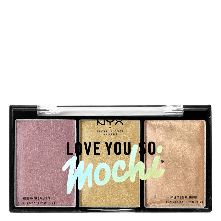 NYX Professional Makeup Love You So Mochi Highlighting Palette, Lit Life