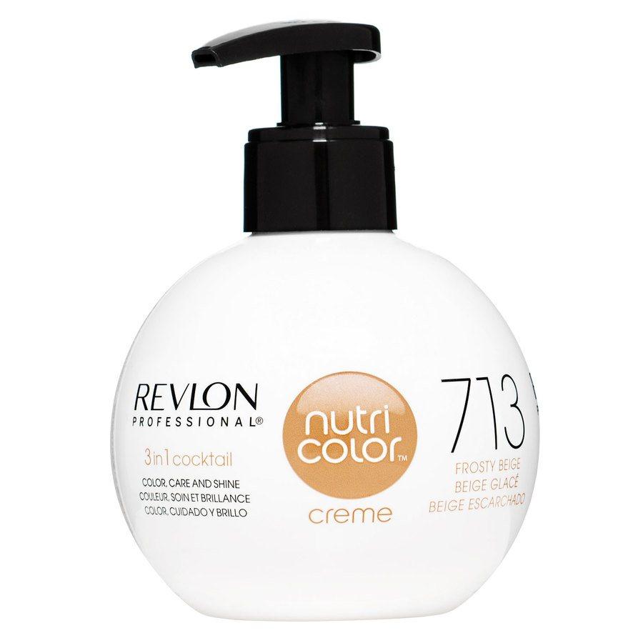 Revlon Professional Nutri Color Creme, #713 Frosty Beige (270ml)