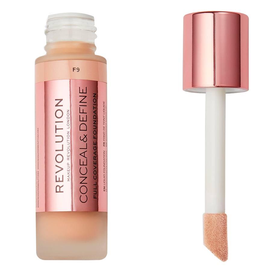 Makeup Revolution Conceal & Define Foundation F9 23ml