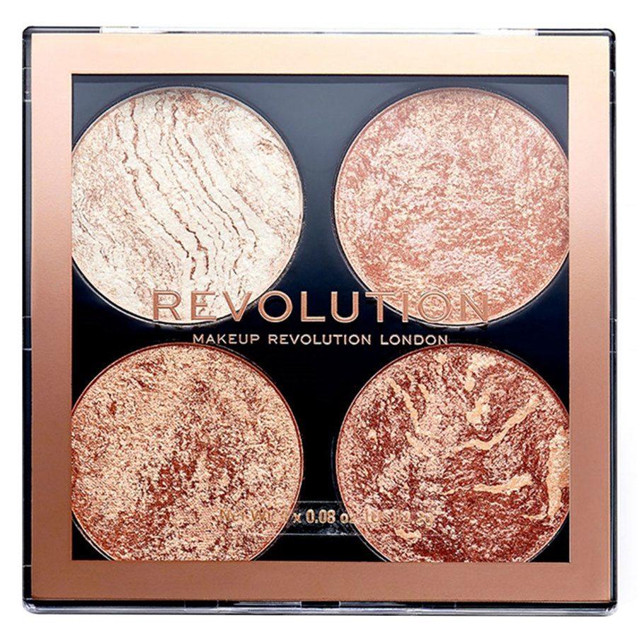 Makeup Revolution Cheek Kit Palette, Don't Hold Back (8,8g)