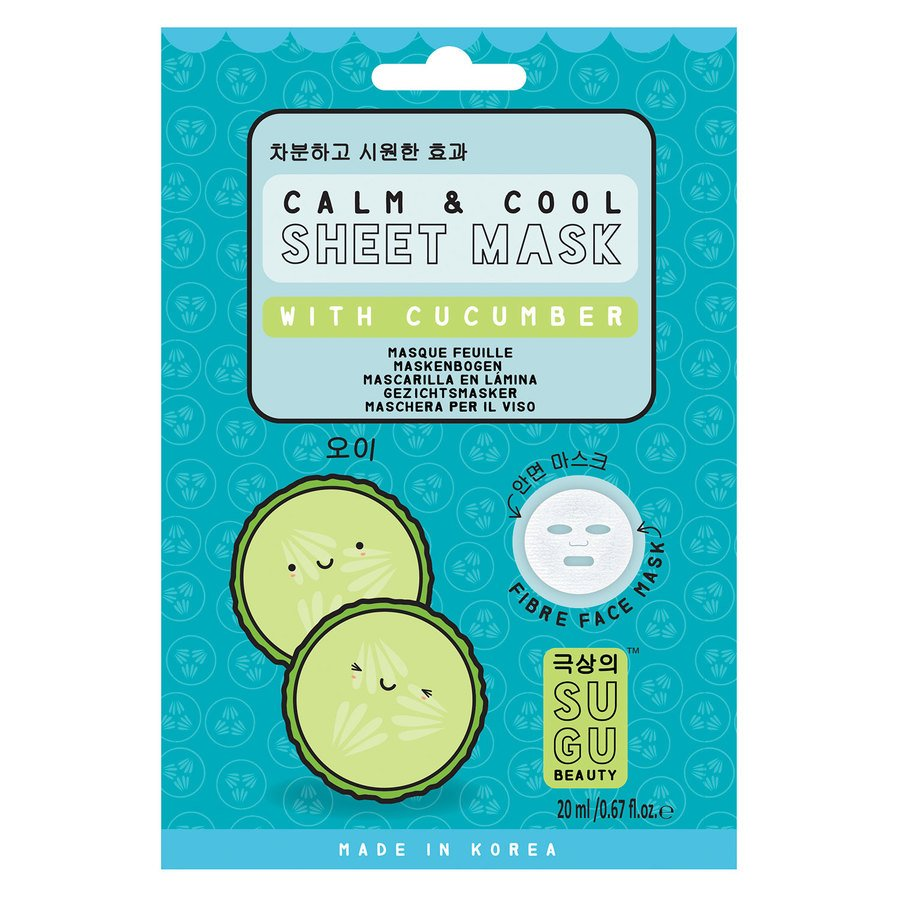 SUGU Cucumber Sheet Mask