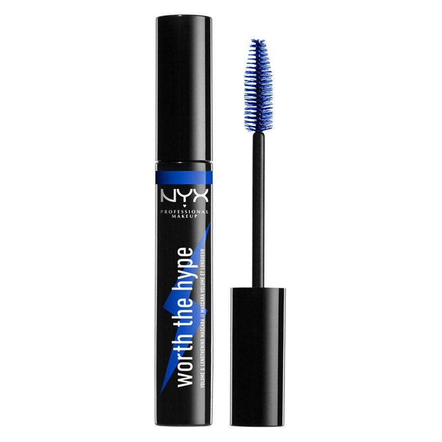 NYX Professional Makeup Worth The Hype Color Mascara, Shade 03 Blue (7 g)