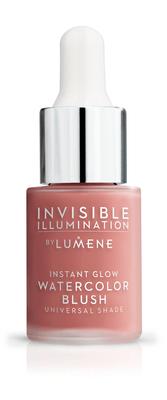 Lumene Invisible Illumination Instant Glow Watercolor Blush (15 ml) Coral Bloom