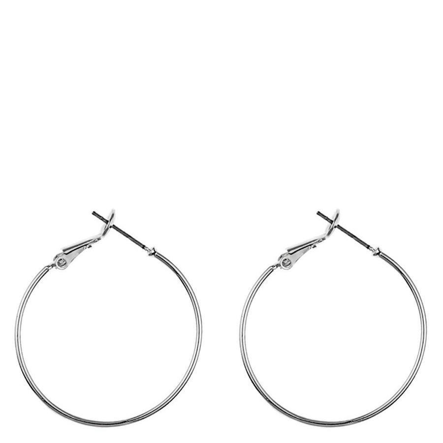 Snö Of Sweden Mystic Ring Earring, Plain Silver (30 mm)