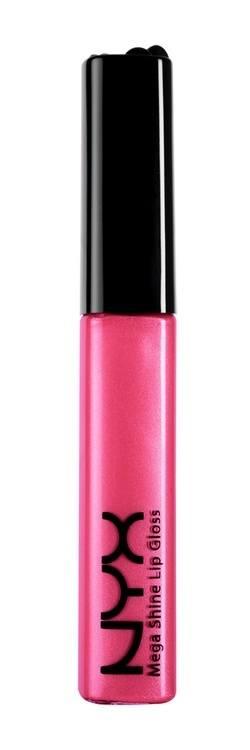NYX Mega Shine Gloss Lipgloss, Ice Princess