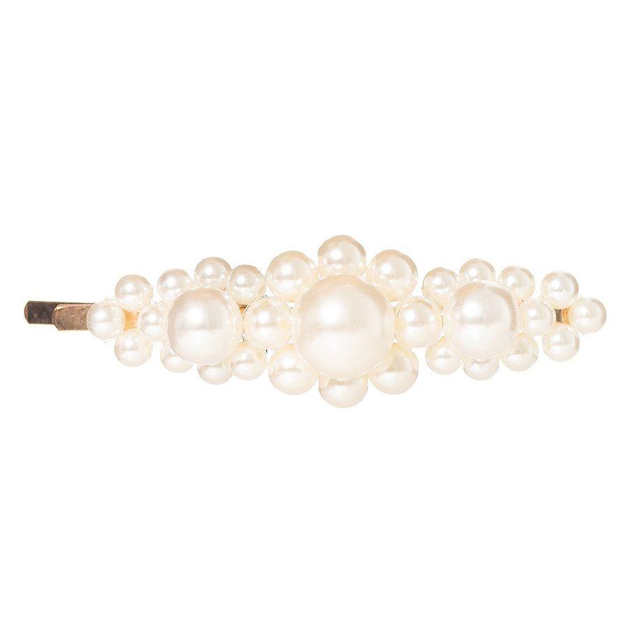 Hairclip pearls 03 Gold