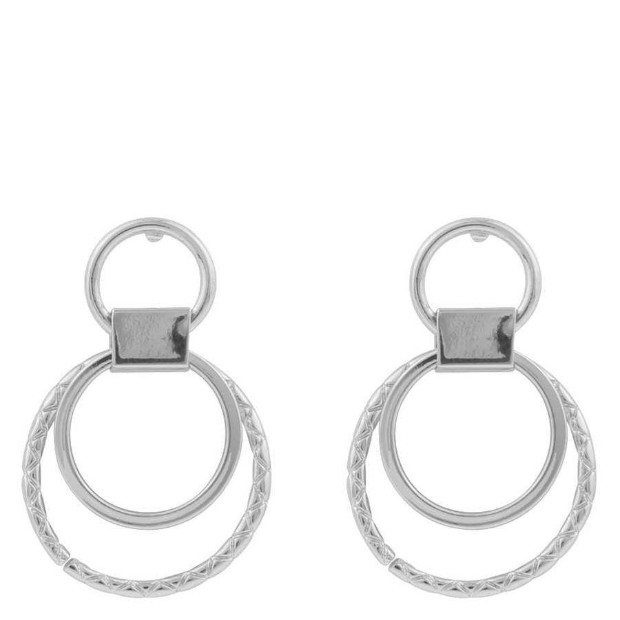 Snö Of Sweden Capella Small Round Earring, Silver