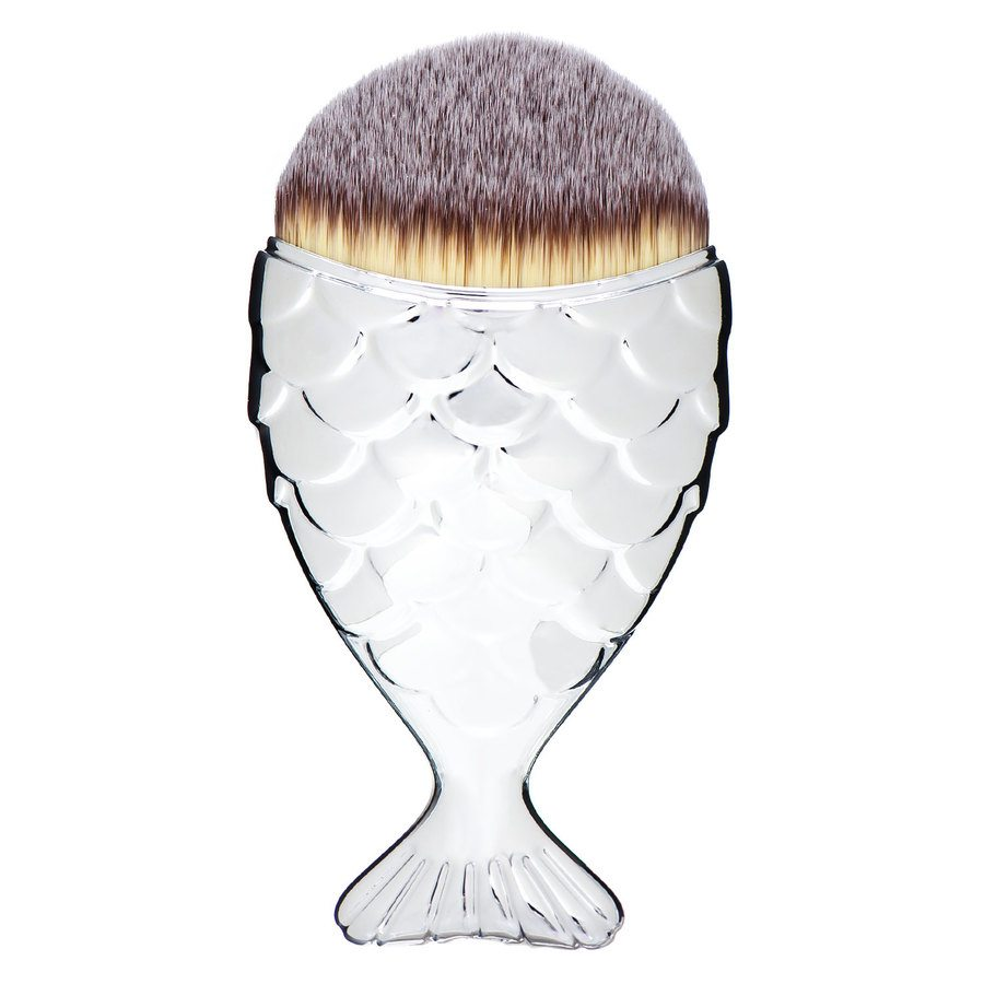 Mermaid Salon The Original Chubby Mermaid Brush, Silver