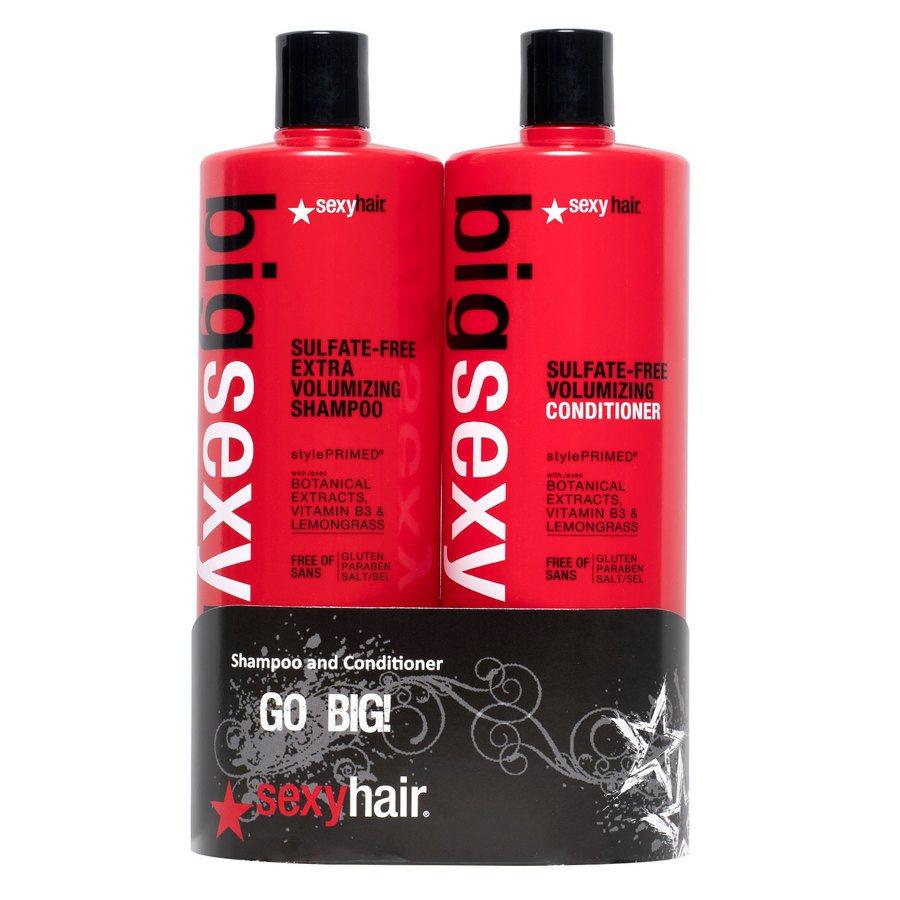 Big Sexy Hair Color Safe Extra Volumizing Shampoo und Spülung (1000 ml)