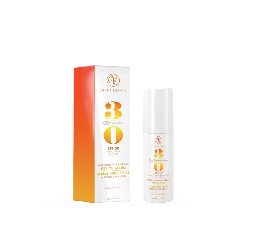 Vita Liberata SPF 30 Dry Oil Face Gesichts-Sonnenöl (30 ml)